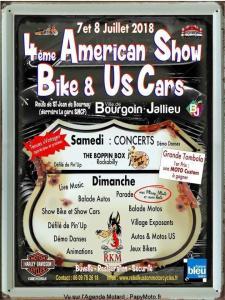 4e Américan Show Bike & US Cars – Bourgoin-Jallieu (38) @ Route de Saint Jean de Bournay