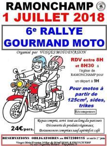 6e Rallye Gourmand Moto - Ramonchamp (88) @ Ramonchamp (88) | Ramonchamp | Grand Est | France