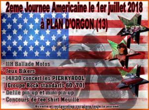 2e Journée Américaine – Plan d'Orgon (13) @ Plan d'Orgon (13)  | Plan-d'Orgon | Provence-Alpes-Côte d'Azur | France