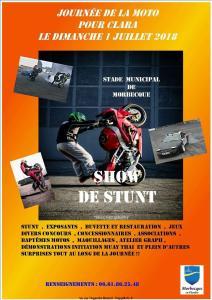 Journée de la Moto Pour Clara - Morbecque (59) @ Stade Municipal