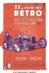 22e Grand Prix Rétro - Puy Notre Dame (49) @ Puy Notre Dame (49) | Le Puy-Notre-Dame | Pays de la Loire | France