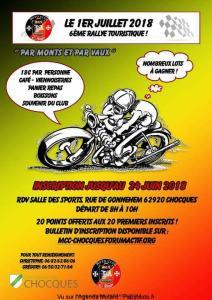 6e Rallye Touristique - Chocques (62) @ Salle des Sports | Chocques | Hauts-de-France | France