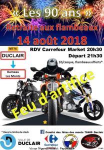 Les 90 Ans  - Retraite aux Flambraux - Duclair (76) @ Carrefour Market | Duclair | Normandie | France