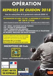 Opération Reprises de guidon 2018 - Démouville (14) @ Centre examen du permis moto | Démouville | Normandie | France