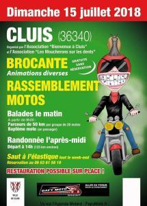 Rassemblement Motos - Cluis (36) @ Cluis (36) | Cluis | Centre-Val de Loire | France
