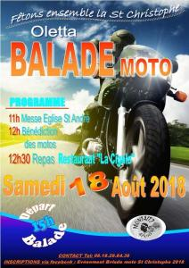 Balade Moto - Oletta (Corse)
