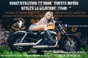 Concentration et Broc' toutes Motos – Nesles la Gilberde (77) @ Nesles la Gilberde (77)  | Lumigny-Nesles-Ormeaux | Île-de-France | France