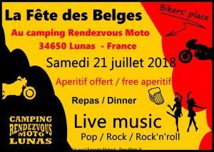 La Fête des Belges - Lunas (34) @ Camping Rendez Vous Moto | Lunas | Occitanie | France