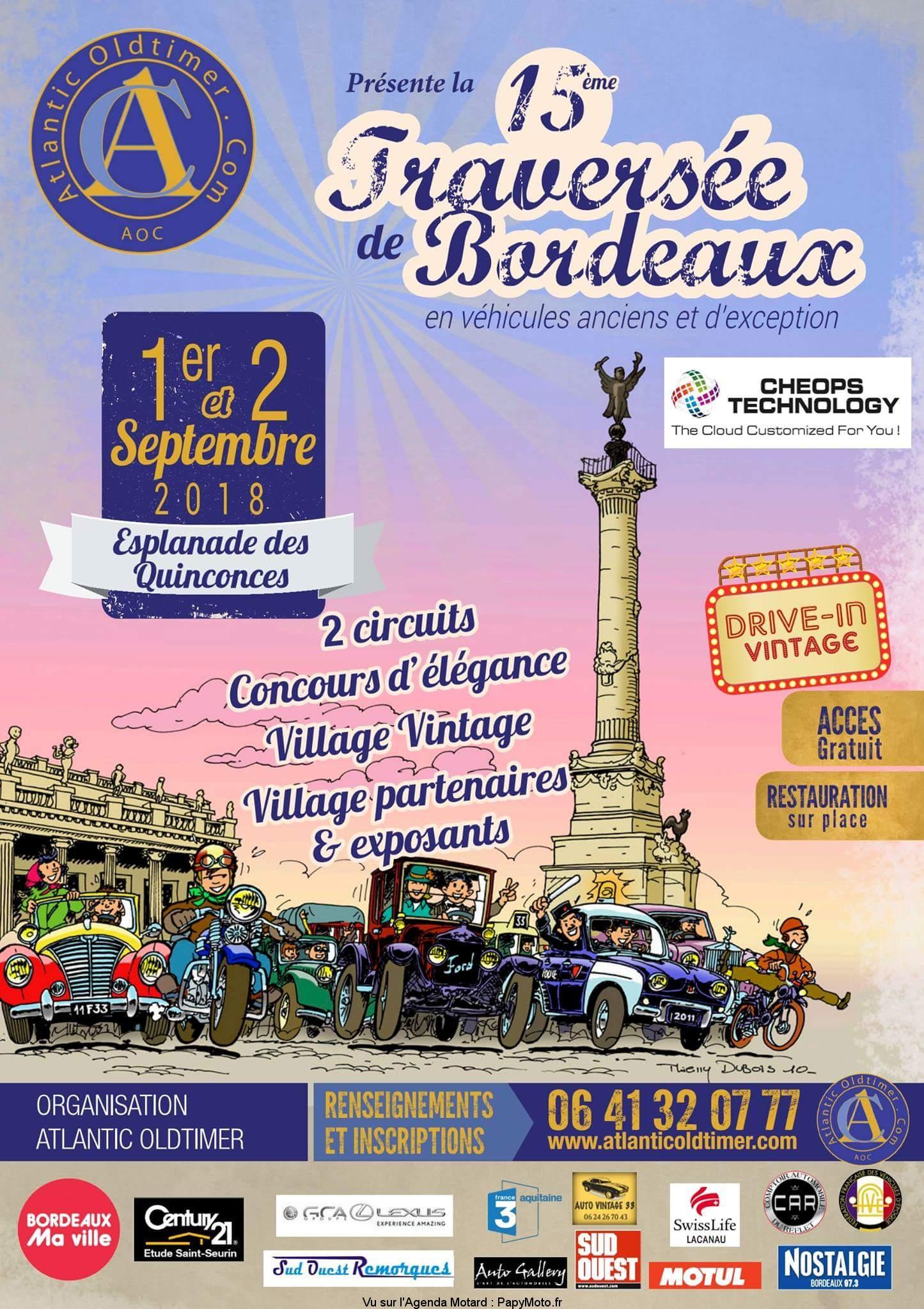 15e Traversée de Bordeaux – Bordeaux (33)