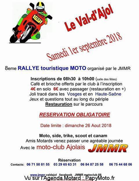 8e Rallye Touristique – Le Val d'Ajol (88)