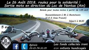 Balade Moto roulez pour la solidarité - Montchanin (71) @ Montchanin (71) | Montchanin | Bourgogne Franche-Comté | France