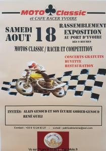 Rassemblement Exposition Motos Classic/Racer et Compétition - Yvoire (74) @ Port D'Yvoire | Yvoire | Auvergne-Rhône-Alpes | France