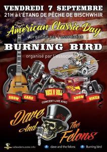 Américan classic day - Burning bird - Bischwihr (68) @ Etang de pêche | Bischwihr | Grand Est | France