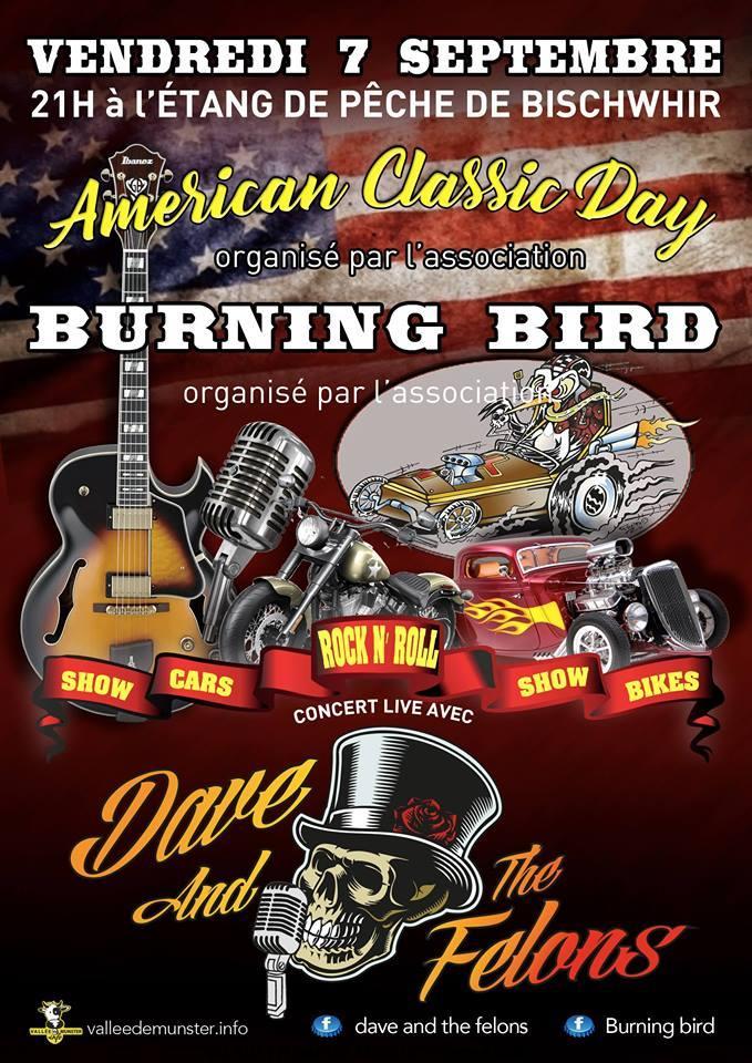 Américan classic day – Burning bird – Bischwihr (68)