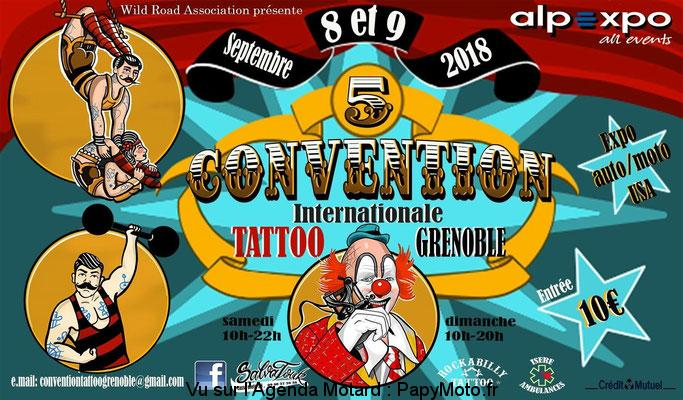 Convention Internationale Tatoo – Grenoble (38)