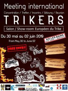 Meeting International Trikers – Aix-les-Bains (73) @ Aix-les-Bains (73)  | Aix-les-Bains | Auvergne-Rhône-Alpes | France