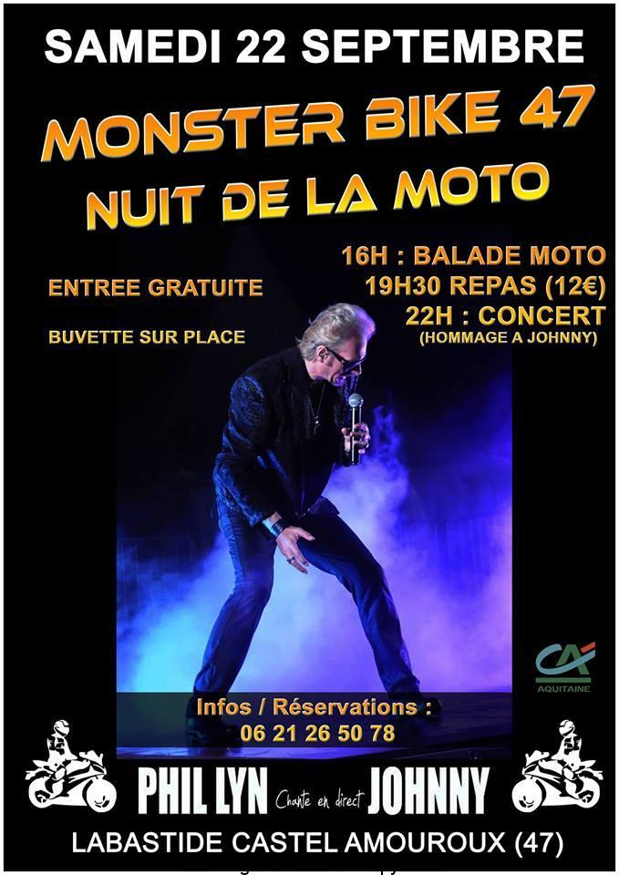 Monster bike 47 – Nuit de la Moto – Labastide Castel Amouroux (47)