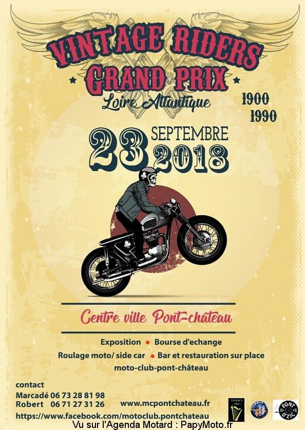 Vintage Riders Grand Prix – PontChateau (44)