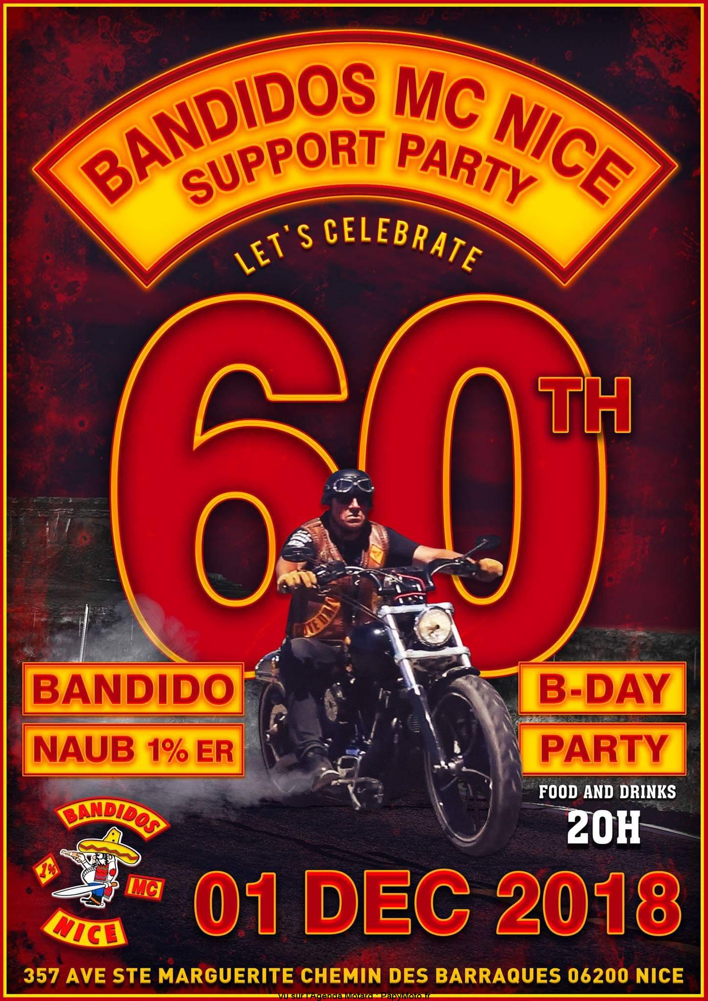 Bandidos Mc Nice Support Party – Nice (06)