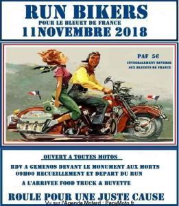 Run Bikers pour le Bleuet de France – Gemenos (13) @ Monuments aux morts | Gémenos | Provence-Alpes-Côte d'Azur | France