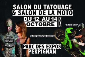 Salon du Tatouage et Salon de la moto - Perpignan (66) @ Parc des Expo | Perpignan | Occitanie | France