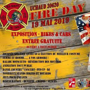 Fire Day - Red Knights – Uchaud (30) @ Uchaud (30) | Uchaud | Occitanie | France