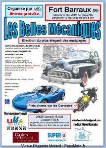 Les Belles Mécaniques – Barraux (38) @ Fort de Barraux | Barraux | Auvergne-Rhône-Alpes | France
