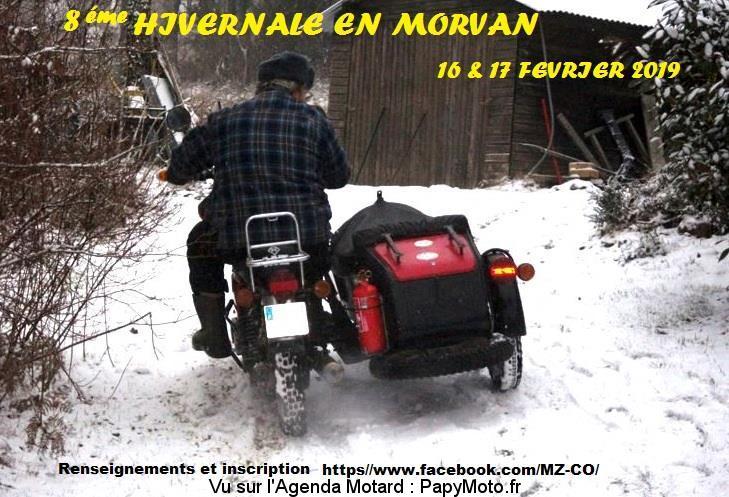 8e Hivernale en Morvan - Saint-Brisson (58)