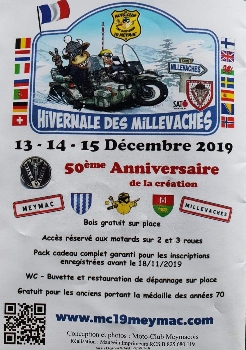 Hivernale des Millevaches - 50e Anniversaire - Meymac (19)