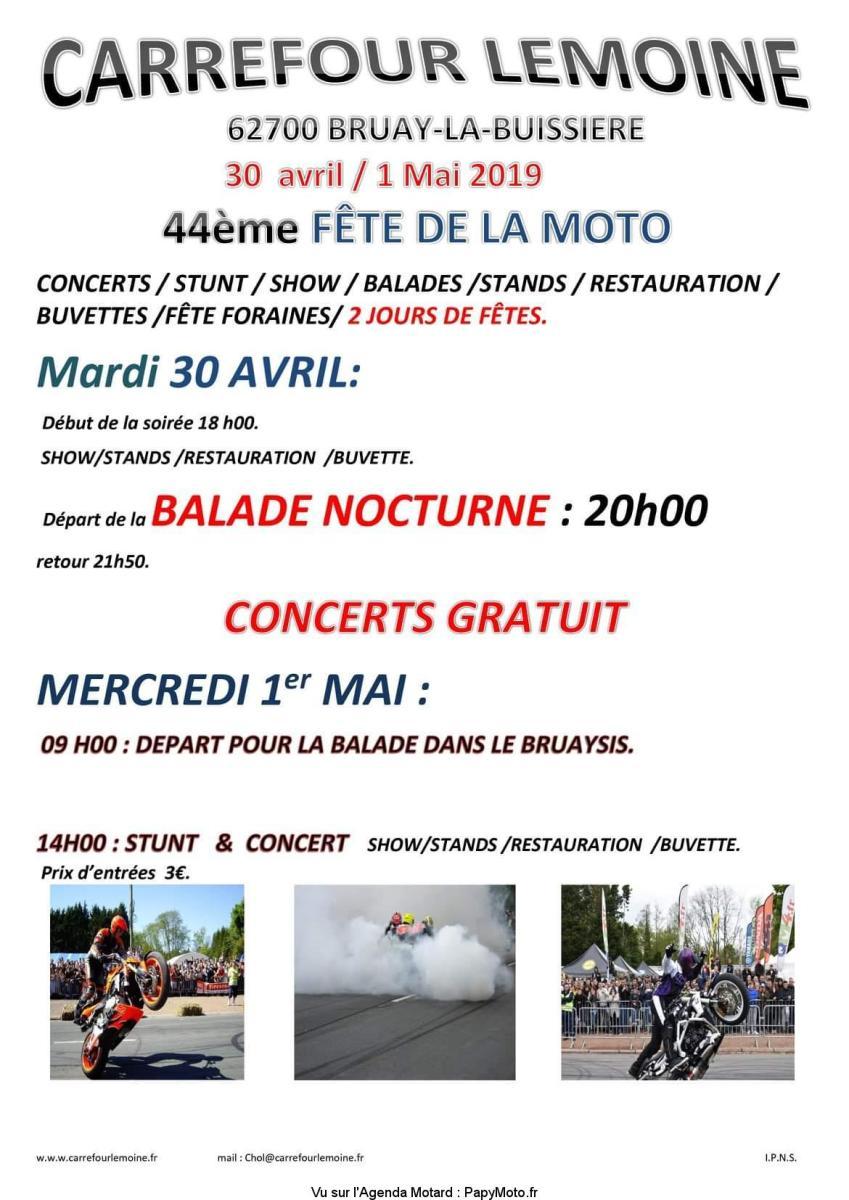 44e Fête de la Moto - Bruay la Buissiére (62)