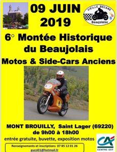 6e Montée Historique du Beaujolais – Saint Lager (69) @ Mont Brouilly   Saint-Lager   Auvergne-Rhône-Alpes   France