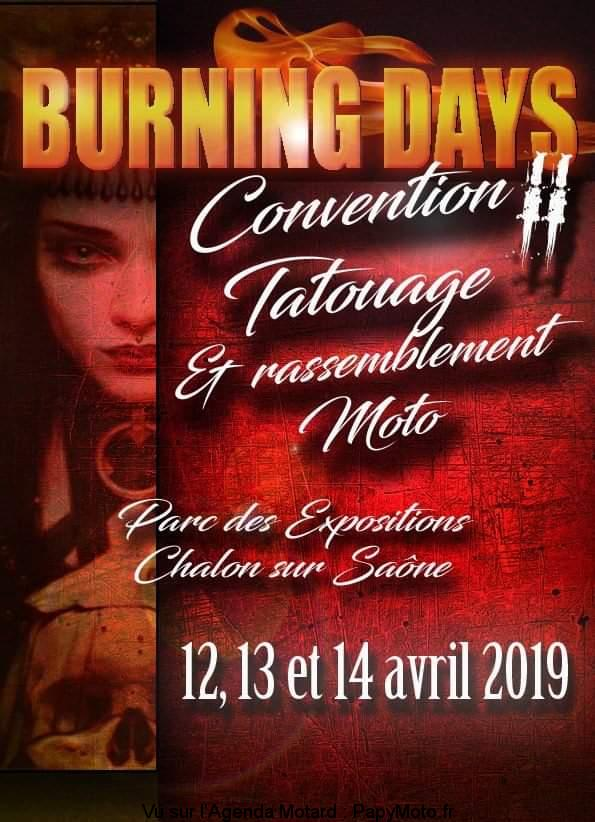 Burning Days Convention Tatouage – Chalon sur Saône (71)