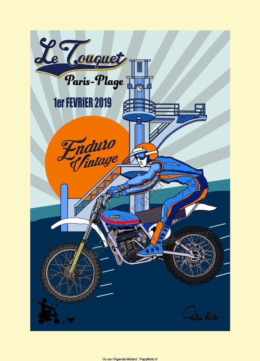 Enduro Vintage – Le Touquet Paris-Plage (62)