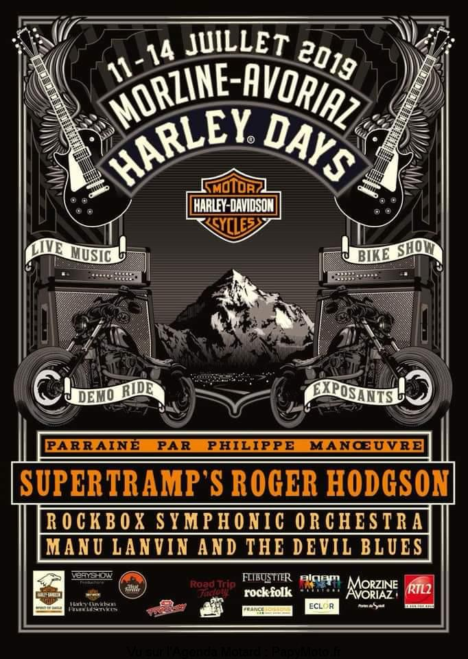 Morzine Harley Days – Morzine Avoriaz (74)