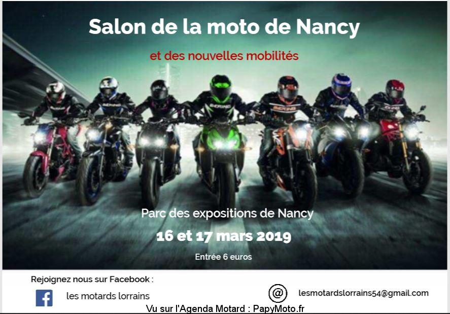 Salon de la Moto et des nouvelles mobilités - Nancy (54)