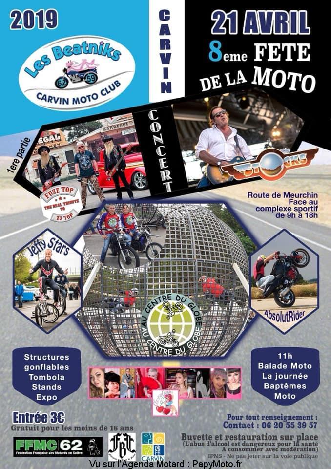 8e Fête de la Moto -Les Beatnicks – Carvin (62)