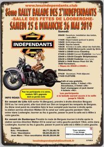 8e rallye Balade des Z'Independants - Looberghe (59) @ Salle des fêtes