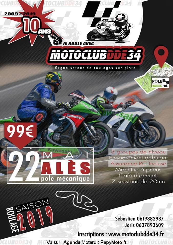 Je roule avec Motoclub DDE 34 – Alés (30)