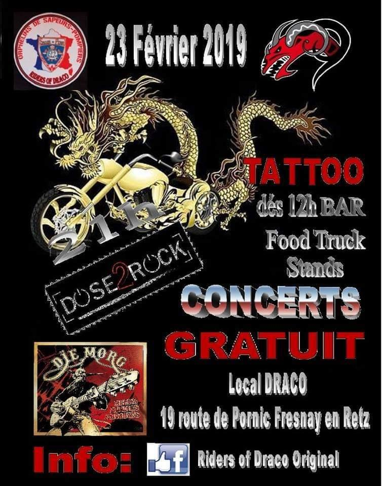 Support Party – Riders of Draco – Fresnay en Retz  (44)