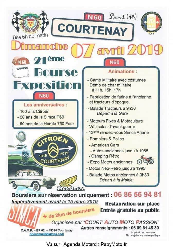 21e Bourse Exposition - Court' Auto Moto Passion - Courtenay (45)