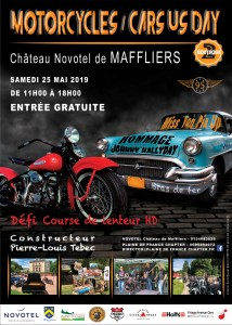 Motorcycles & Cars US Day 2 - Maffliers (95) @ Chateau de Maffliers