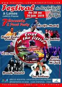 Festival Lost in the fifties - Lattes 34) @ Port Ariane
