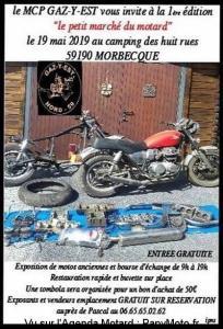 Le petit marché du motard - MCP Gaz-Y-Est - Morbecque (59) @  Morbecque (59)
