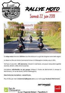 Rallye Moto - Mot'armoric - Châteaugiron (35) @ Centre Commercial Univer