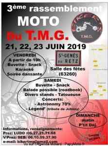 3e Rassemblement Moto du T.M.G. - Saint Genès du Retz (63) @ Salles des Fêtes