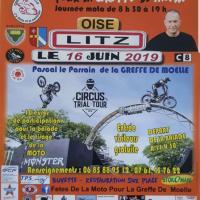 15e Fête de la Moto pour la greffe de Moëlle - Litz (60)