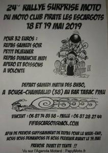 2'e Rallye surprise - MCP les Escargots – Bougé-Chambalud (38) @ Bougé-Chambalud | Auvergne-Rhône-Alpes | France