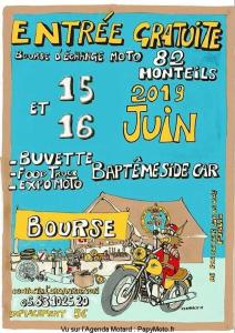 Bourse d'échanges Moto - Monteils (82) @ Monteils (82)