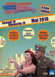 Festival Américain – Cany-Barville (76) @  Cany-Barville (76)