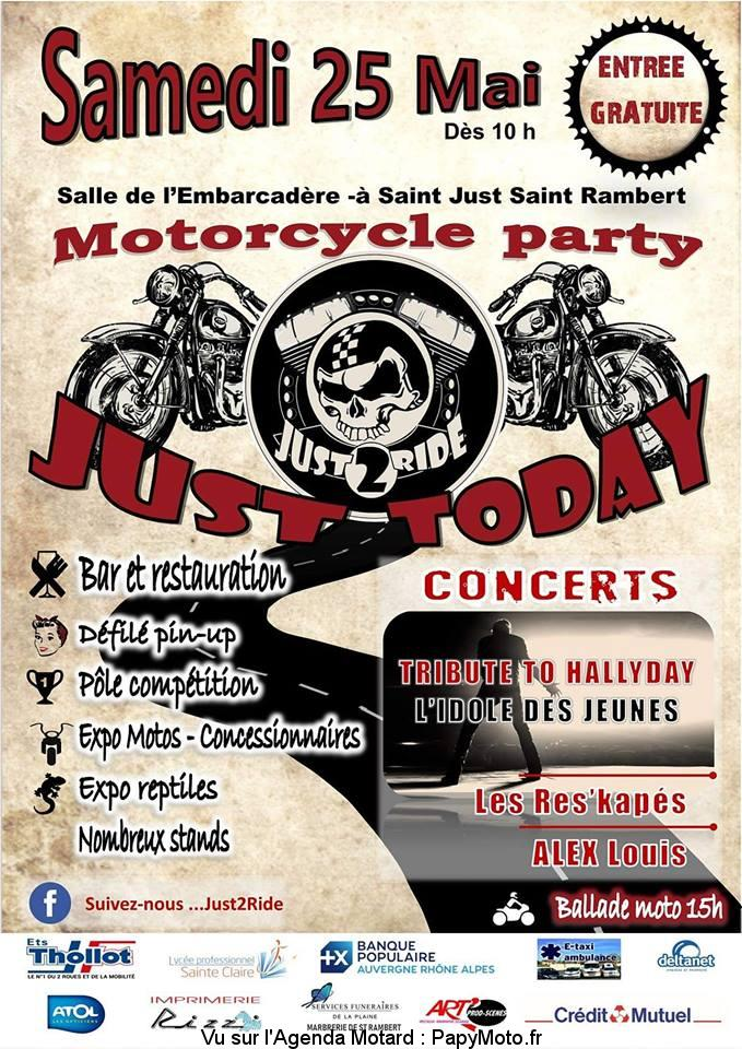 Motorcycle party – Just Today – Just2Ride – Saint-Just-Saint-Rambert (42)